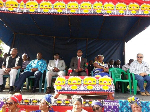 Chakwera joined by Chihana, Nnesa and Katsonga at the rally