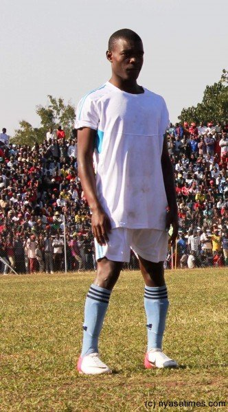 Chawanangwa Kawonga: Up-and-coming striker