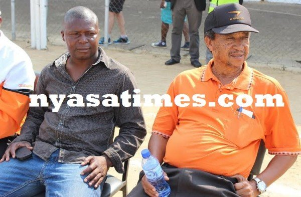 Time to get right badge: Wanderers Coach Elijah Kananji  and former technical director Yasin Osman