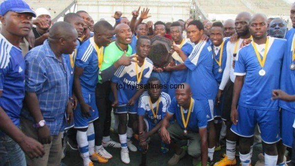 Be Forward Wanderers win Chaity Shield.-Photo by Jeromy Kadewere, Nyasa Times