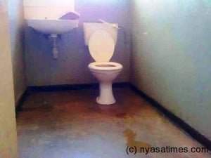Girls hostels toilet dry ...Photo Jeromy Kadewere