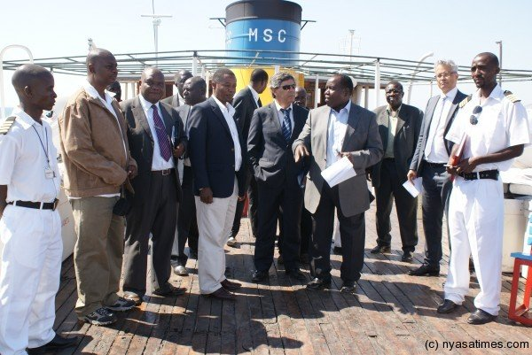 Mota-Engil being handed over the Lake Malawi ports