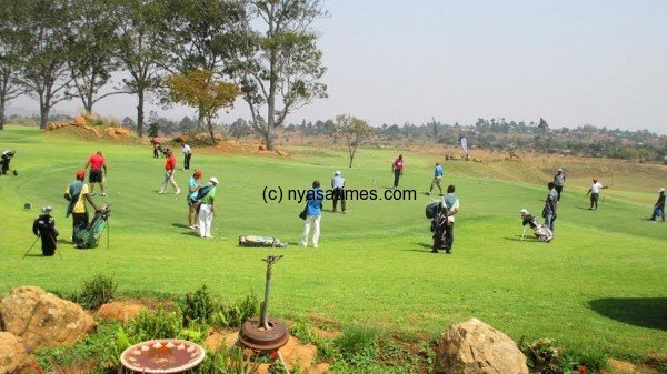 Mibawa Airtel golf competition.....Photo Jeromy Kadewere
