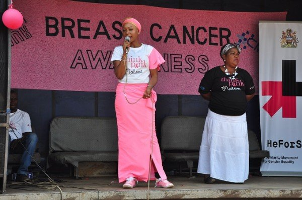 Kondowe: Think Pink Malawi brerast cancer campaign