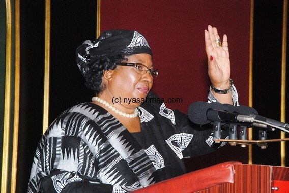President Banda:  Progress noted by IMF